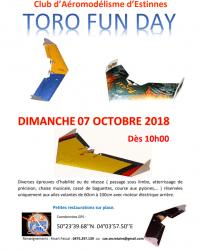 Journée ailes volantes au club d'Aéromodélisme Estinnois dimanche 7 octobre