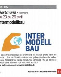 Salon du modélisme de Dortmund 2020